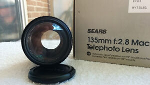 Sears 135mm F2.8 with 52mm Clear Filter London Ontario image 2