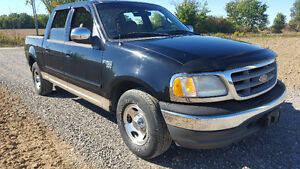 2001 Ford F150 Supercrew low kms