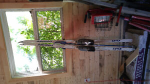 Older set of Skis/Boots/Poles