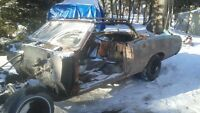 1966 convertible lemans  body for sale