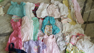 Box of baby girl clothes 3 -6 months
