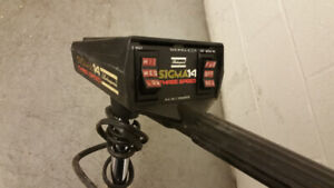 Shakespeare Sigma14  12volt trolling motor with weed guard