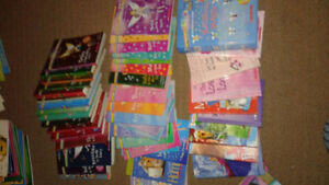 Over 150 childrens books, activity books and novellas