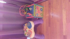 Activity cube and table