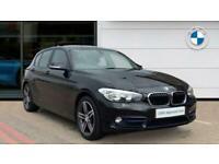 2017 BMW 1 Series 116d Sport 5dr [Nav] Diesel Hatchback Hatchback Diesel Manual