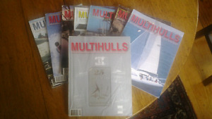 MULTIHULLS  MAGAZINE  *80'S-90'S-00'S*  ABOUT 80+ ISSUES