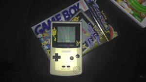 Very rare limited edition Pokemon G/S Gameboy Color