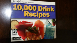 Drink recipes cd Rom