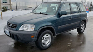 REDUCED PRICE ! Honda CRV 1998 All Wheel Drive with low KM