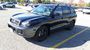 2004 Hyundai Santa Fe' Very Low Kms With Emission Test