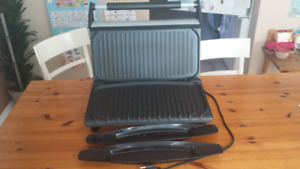 Family Size Stainless Steel George Foreman Grill