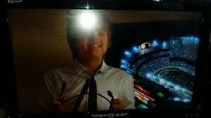 "26 "" led vision quest tv n monitor,2 hdmi"
