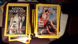 national geographic magazines 2002 to 2010
