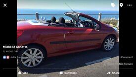 Peugeot 207 cc 1.6 hdi convertible