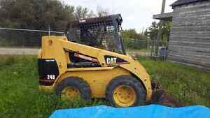 2002 Cat 248 High Flow Skid Steer