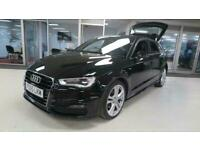 2015 Audi A3 2.0 TDI S Line [Start Stop] 5dr, Heated Seats, DAB, + 14 Day Money