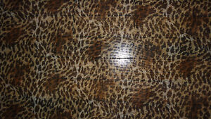 Leopard Print Valance/Curtains