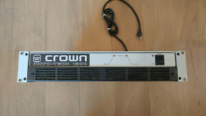 Crown Micro-Tech 1200 stereo power amp - 300 wpc - $200