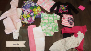Girls 9 month lot of clothing