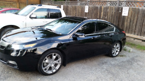 RARE 2012 Acura TL Sedan Elite - VERY LOW KMs 71K