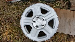 16x7 Wrangler rims with TPMS -will fit many vehicles