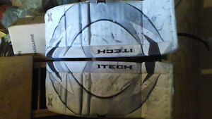 used I tech X-Wing goalie pads