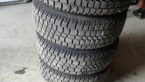 Avalanche Extreme Winter Tires 215 70 16 and Steel Rims 6x114.3
