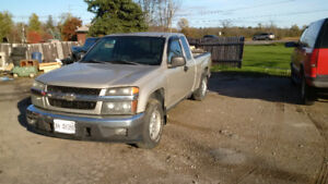 2004 Chevy Colorado extra cab pickup truck