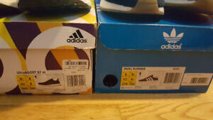 Selling Air Jordan, Barkleys and Adidas from size 8.5 to 9