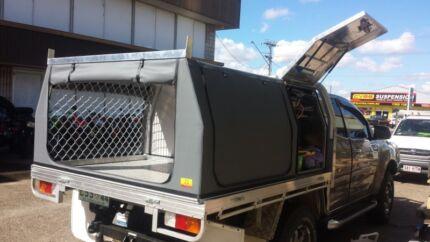 Aluminium custom made ute canopies Slacks Creek Logan Area Preview