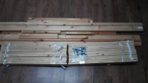 Ikea double-size bed frame for sale