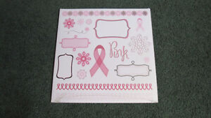 Creative Memories Think Pink paper package