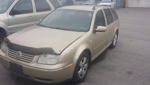 2003 vw jetta 1.9 for parts