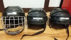 Casques et patin de hockey Bauer / Skating helmet & skates CCM