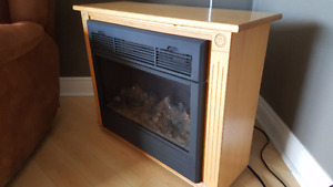Amish fireplace electric