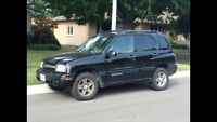2003 Chevy Tracker only 163,000 kms! With winter tires!