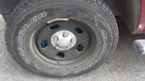 Ram 1500 pneu roue mag