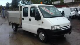 Citroen Relay 2.2HDi 1800 LWB doublecab + tail lift