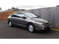 Honda Civic 1.3 IMA Hybrid ES 4dr LHD LEFT HAND DRIVE 2008 FRENCH REGISTERED