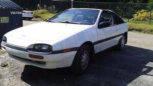 1991 Nissan NX (2 portes) T tops