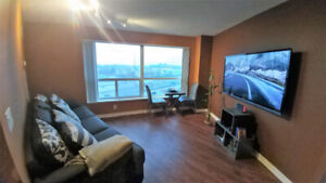 FURNISHED, 1 Bedroom Condo W/ Parking, Hydro & WIFI by STC!
