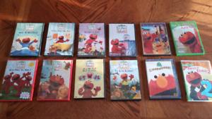 Various Elmo DVDs