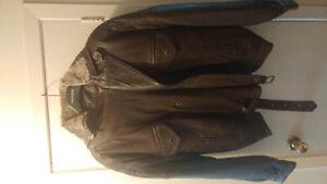 Toscano Men's Leather Coat London Ontario image 1