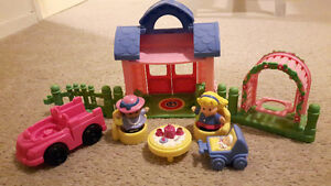 Fisher-Price Little People - pink/girly Lot London Ontario image 1