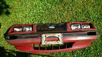 Ford Mustang Nose and Header With light buckets 1983