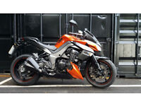 2012 Kawasaki ZR1000 Z1000 2 Owners 14544 Miles FSH Good Condition