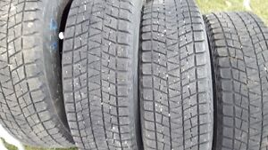 for sale    4-    winter tires   215/70/17     on rims