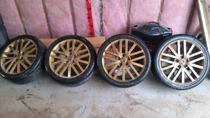 Mazdaspeed 6 wheels and tires $525