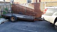 trailer 12ft x 5ft utility with new lights