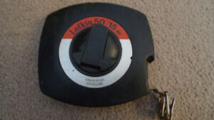 LUFKIN 50'/15m Universal Long Steel Tape HY15CME Made Canada